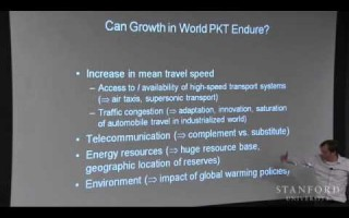 Stanford Uni – Transportation & Climate Change