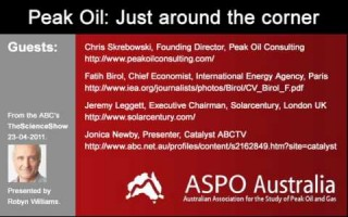 Peak Oil – just around the corner – Part 1