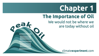 Chapter 1 - The Importance of Oil